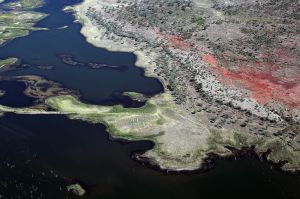 Aerial View of Lake Argyle