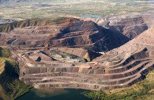 Argyle Diamond Mine in The Kimberley