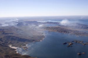 Lake Argyle Smoke Eastern Kimberley