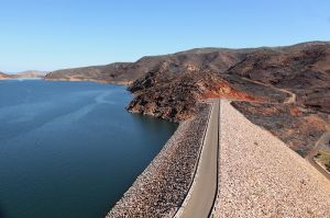 Ord River Dam Wall