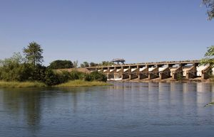 Ord River Diversion Dam  Kununurra