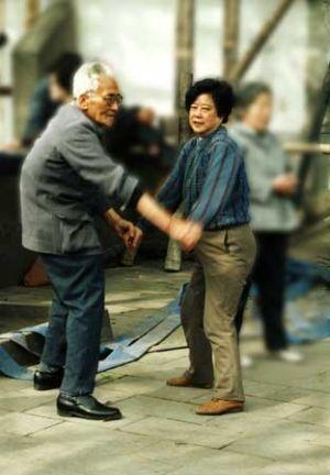 Ballroom Dancing in Shanghai