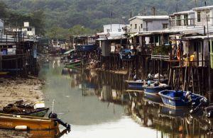Tai O River Lantau Island Hong Kong