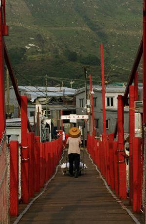 Village Bridge Tai O Lantau Island HK