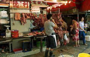Kowloon Street Market Hong Kong