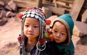 Lao Tribal Chidlren