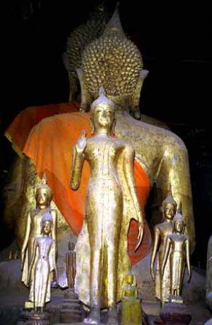 Lao Temple Gods