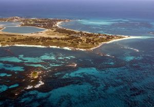 Aerial VIew of Rottnest Island WA