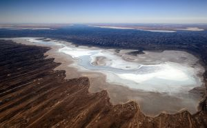 Landscape of Lake Eyre SA