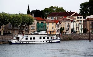 View of Tain L'Hermitage from the Bridge Over The Rhone