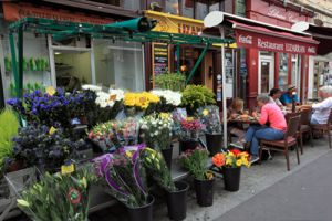 Flower Shop in Central Paris