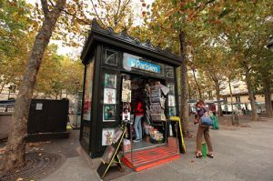 Le Parisian Newspaper Kiosks a Definitive Icon in Paris