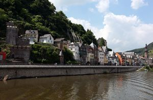 Historic Houses Along Mosel River