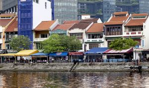 Singapore River Front