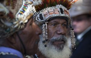 ANZAC Papuan Faces