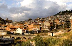 A Town on Mt Etna