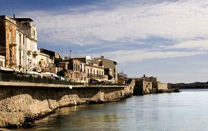 Ortygia Harbour Syracuse